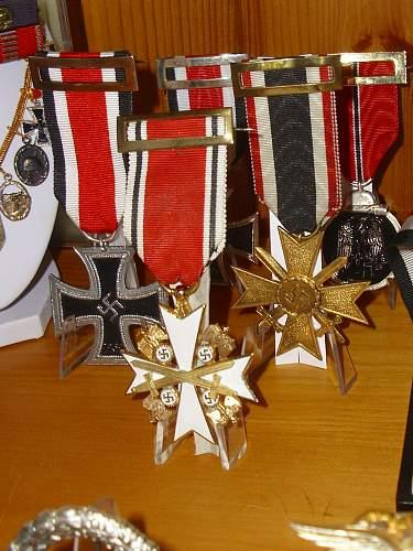 Spanish civil war medal awarded to Germans
