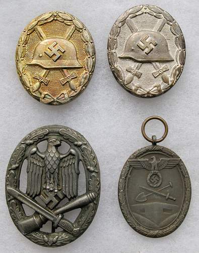 Lot 1: Are these Medals Real or Fake???