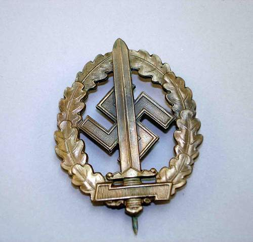 SA Sports Badge War Wounded - Is this a good badge?