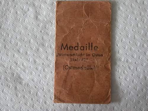 All my Ostmedaillen