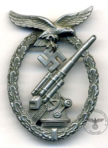 Luftwaffe flak kampfabzeichen ??