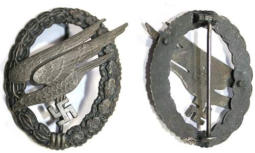 Fallschirmschutzenabzeichen(A)