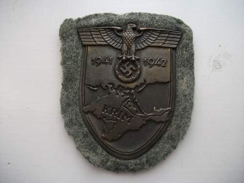 Krim Shield Received today