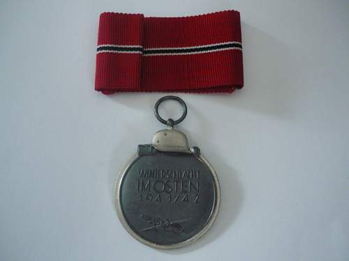 East Medal opinion need