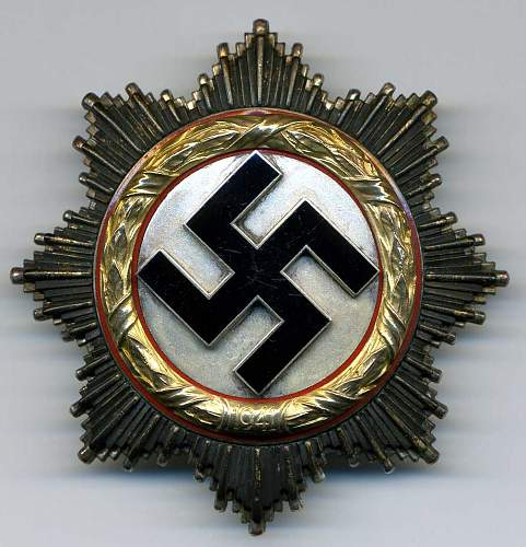 German Cross in Gold from Normandy