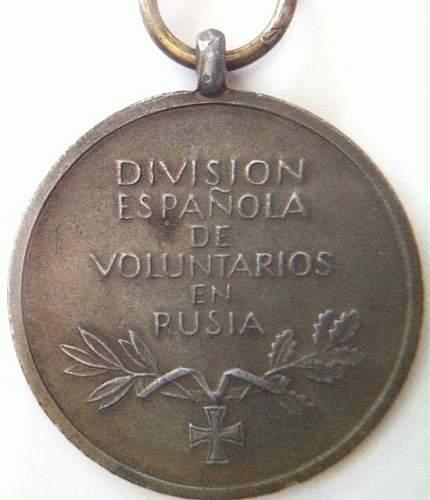 Spanish Blue Division by Deschler & Sohn 1