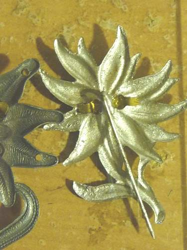 Click image for larger version.  Name:German EDELWEISS BADGE03.jpg Views:292 Size:53.0 KB ID:69126