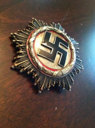 Junker Deutsches Kreuz im silber?