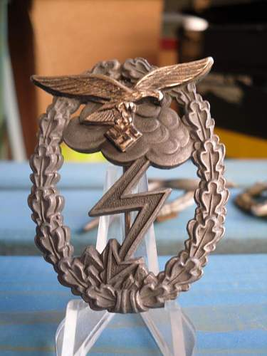Erdkampfabzeichen der Luftwaffe by Osang