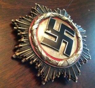 """Deutsche Kreuz """"2"""" silber"""