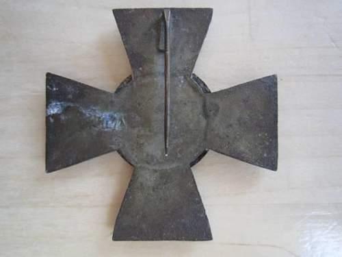 the schalburg corps cross