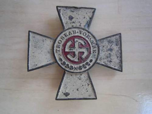 the schalburg corps cross