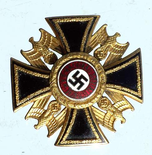 German Order 3rd class, real or fake?
