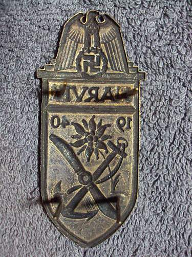 Narvik shield narvikschild ???