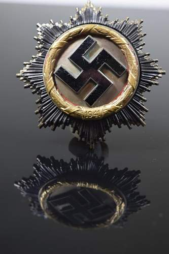 DeutschesKreuzin order of teh german cross/gold