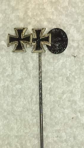 Stickpins - EK, IAB and PAB