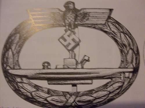 U-boot Kriegsabzeichen for review