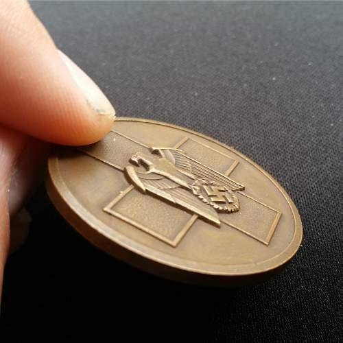 Social Welfare Medal (Medaille für Deutsche Volkspflege)