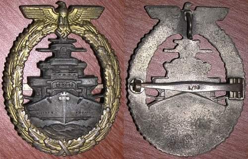 Schnellboot-Kriegsabzeichen