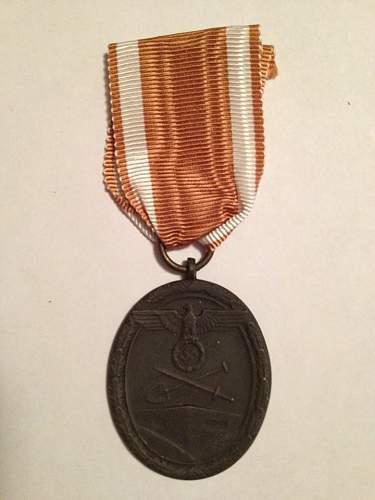 Deutsches Schutzwall-Ehrenzeichen & Kriegsverdienstkreuz 2.Klasse ohne Schwerter