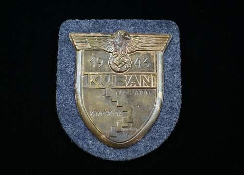 Kuban shield (Luftwaffe) opinion