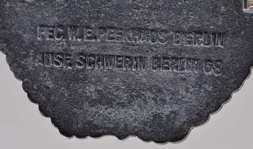 Schnellboot 2nd pattern (Schwerin)