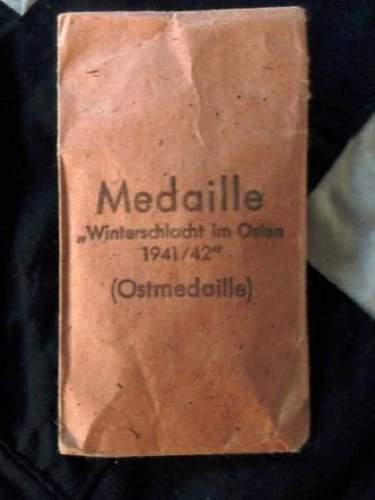 Ostmedaille