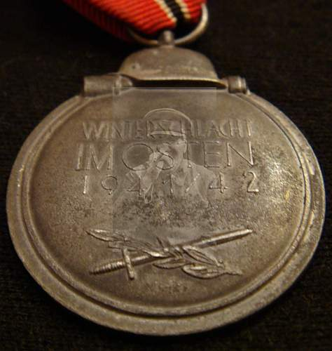 Ostfront medal for revision