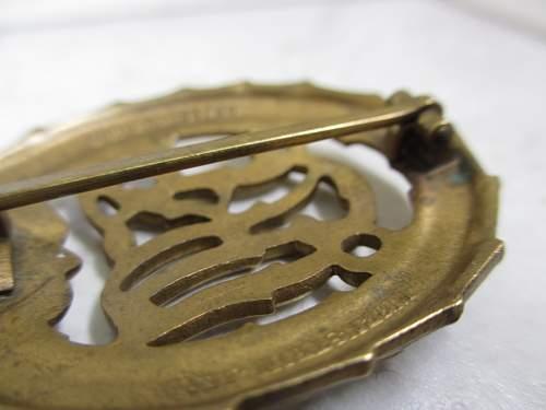DRL Sportabzeichen in bronze or in gold?