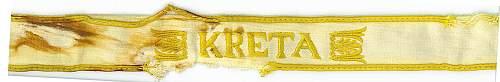 ärmelband Kreta (Kreta cuff title)