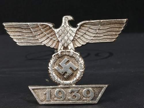 1939 Spange zum Eisernen Kreuzes, Good/Bad?