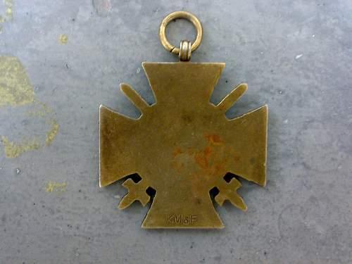 Ehrenkreuz des Weltkrieg