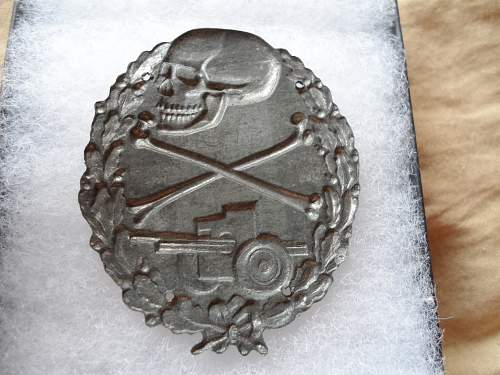 Blue Division Anti-Tank Badge for review