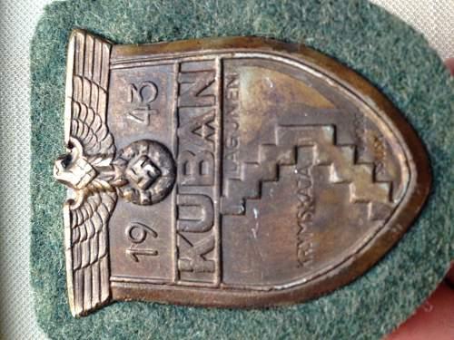JFS Kuban shield - good or fake?