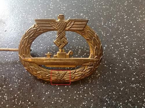 U-boot Kriegsabzeichen, Help needed.