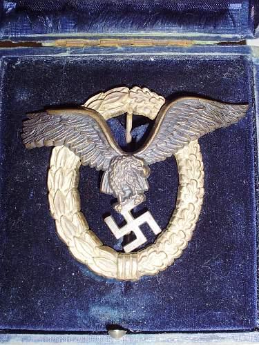 Pilot/Observer Badge - Fake?