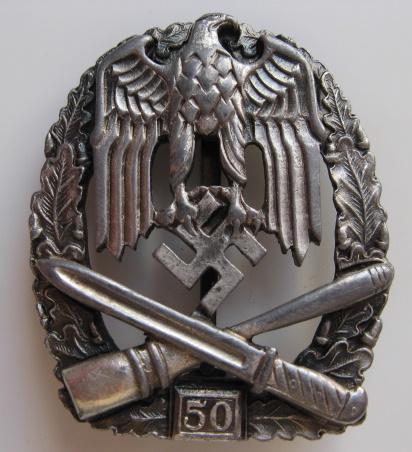 Luftwaffe pilots badge & Allgemeine Sturmabzeichen 50 grade original or not?