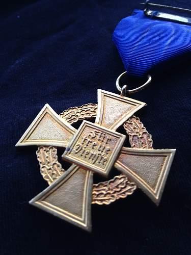 Civil Award 40 Years - Opinions Please!