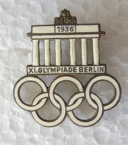 1936 Berlin Pin - For Your Review
