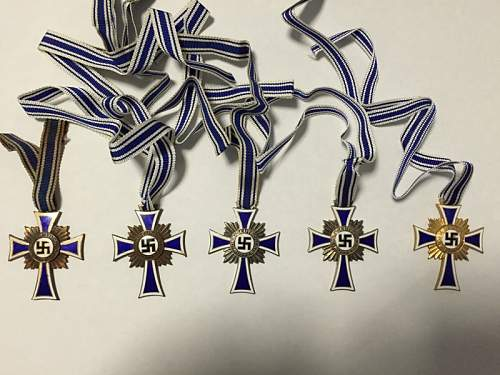 My 5 Ehrenkreuz der Deutschen Mutter, real or fake?