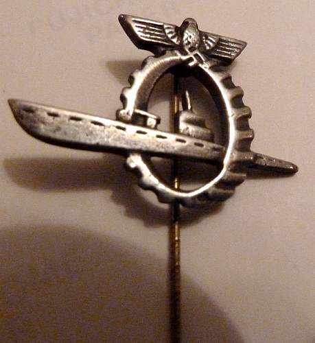 I can't seem to find this Kriegsmarine stick pin elsewhere - is it especially rare?