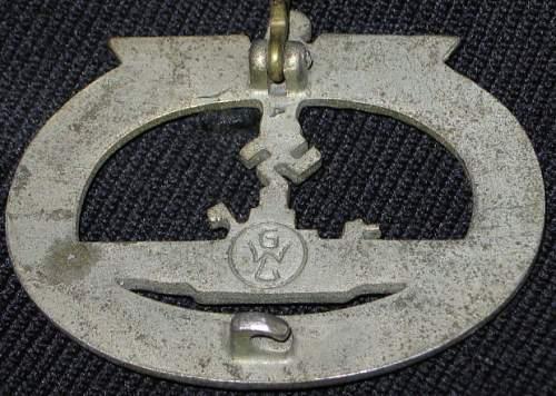 U-boot Kriegsabzeichen