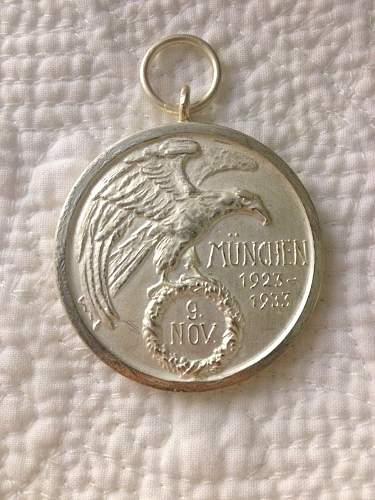 Blutorden medal