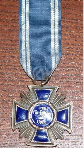 NSDAP 15 year service medal: original or not?
