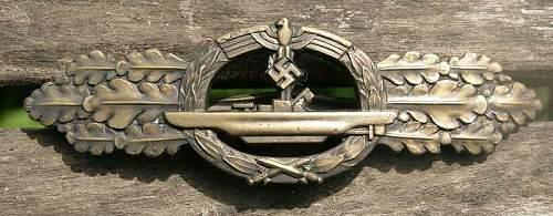 U boats spange original?