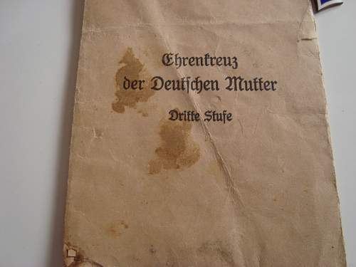 Ehrenkreuz der Deutschen Mutter