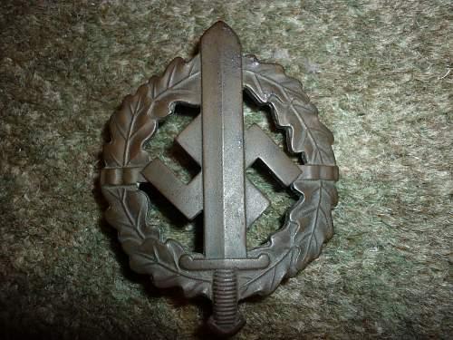 Bronzes SA-Sportabzeichen - original?