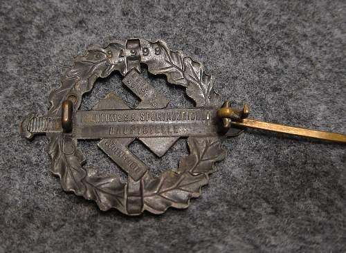 SA-Sportabzeichen : Bronze for review