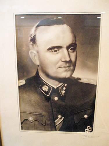 Deutsches Kreuz in Gold Awarded to SS Officer