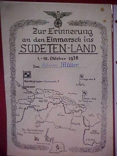 Sudentenland Medal +